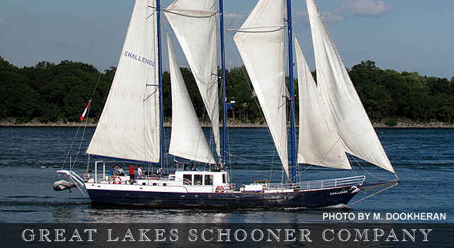 A Sail Through Time - The Great Lakes Schooner Company