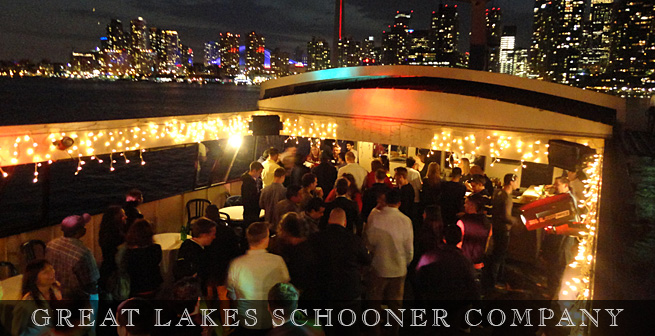 Toronto Private Dinner Cruises - The Great Lakes Schooner Company