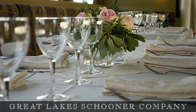 Toronto Cruise Menus - The Great Lakes Schooner Company