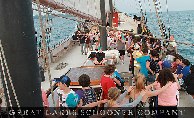 Toronto Pizza and Formal Cruises - The Great Lakes Schooner Company