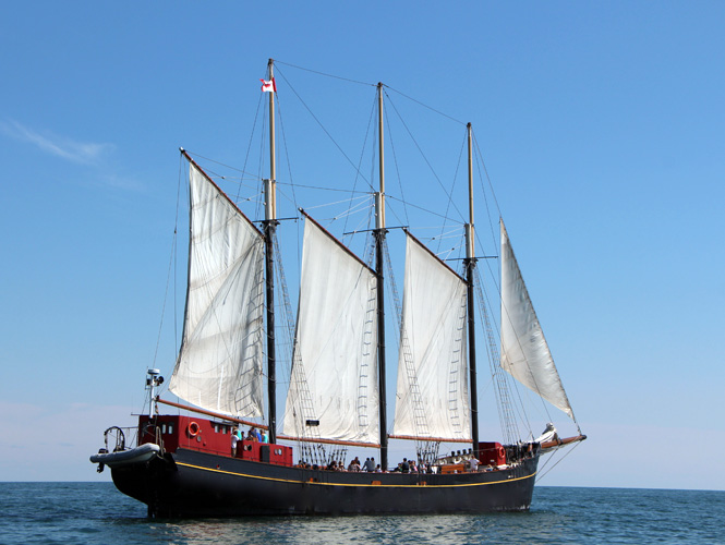 Our Boats - The Great Lakes Schooner Company