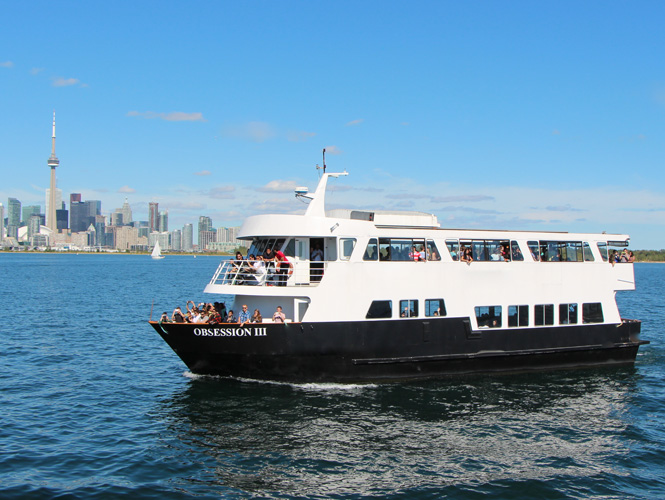 Obsession Iii 190 Guests Toronto Dinner Cruises Boat